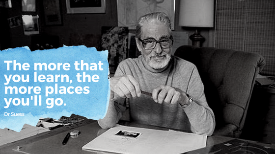 Dr Seuss learning quote