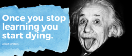 Einstein quote learning